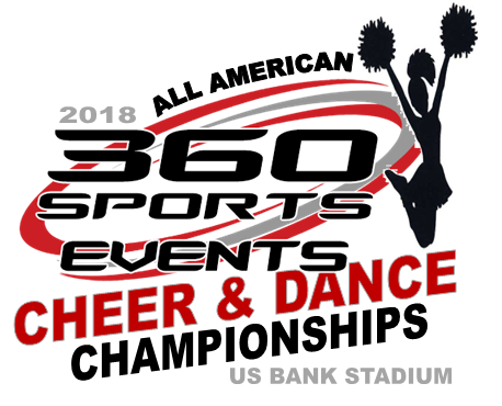 ALL AMERICAN CHEER LOGO
