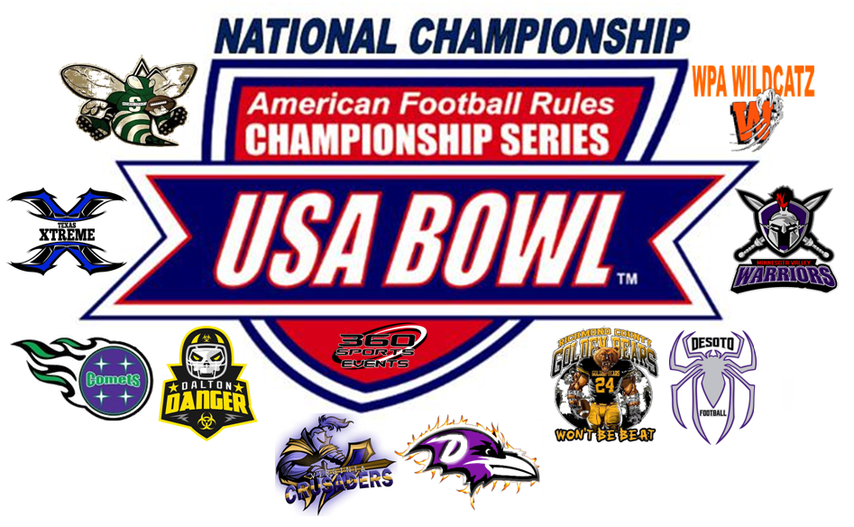 2018 USA Bowl Team Logo