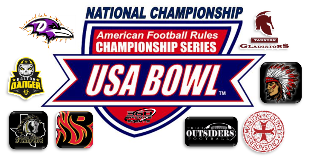 2019 USA BOWL lOGO WITH TEAMS